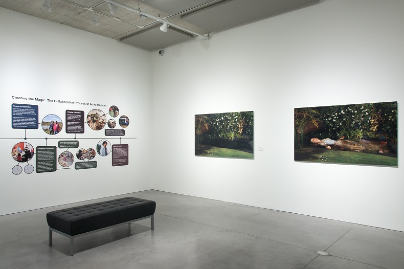 Exhibition shot of Blackwater Ophelia