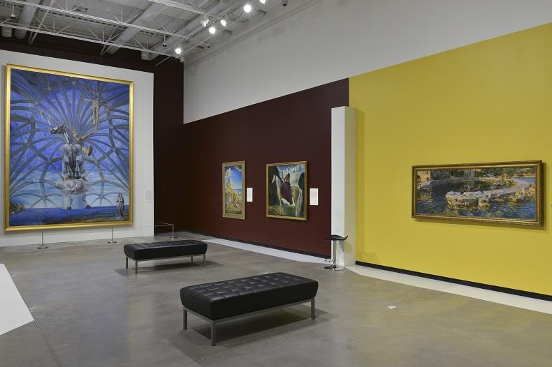 Exhibition shot of Masterworks