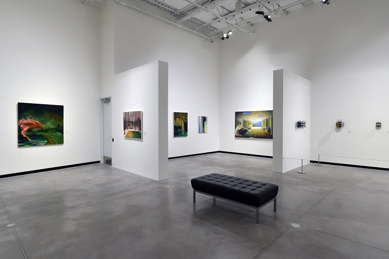 Exhibition shot of Elusive Utopia