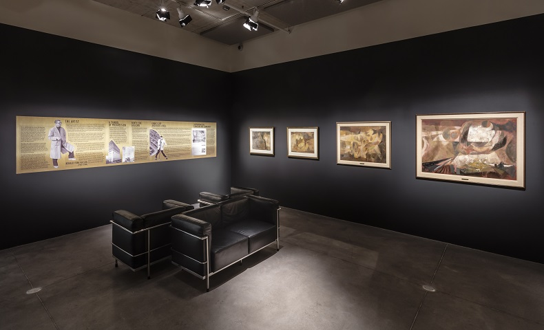 Exhibition shot of The Story of Oil