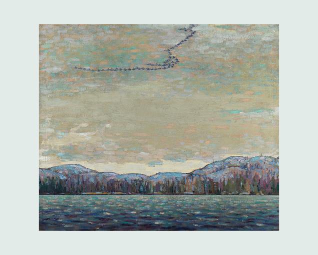 Chill November by Tom Thomson