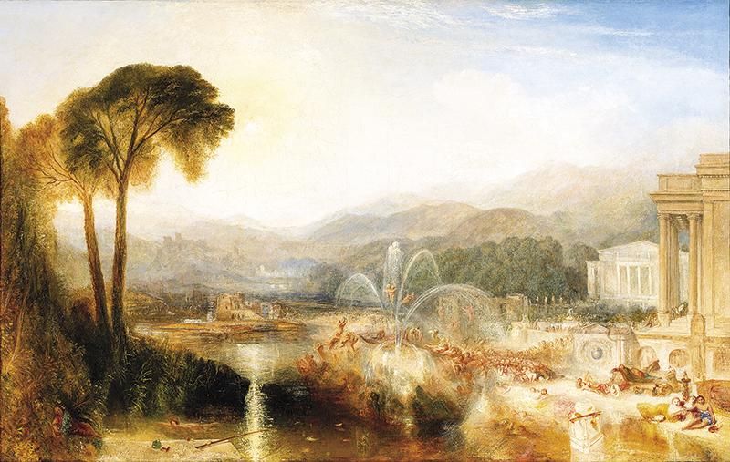 Beaverbrook Turner landscape