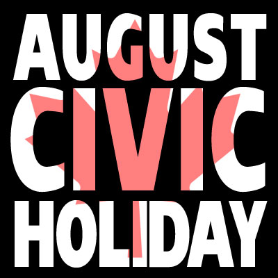 Civic Holiday promo images