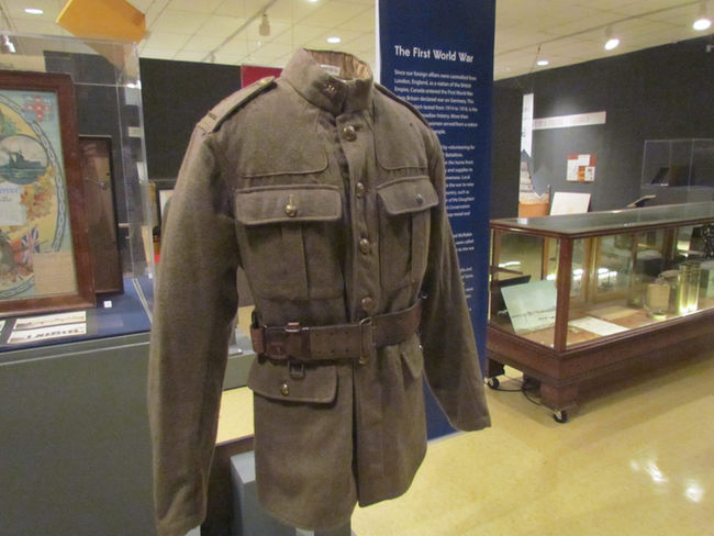 Lambton at War exhibition