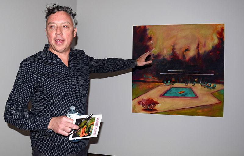 Artist, Ian McLean