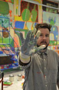 Artist James Kirkpatrick