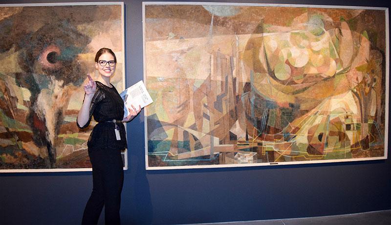 Assistant Curator, Sonya Blazek